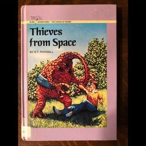 Thieves From Space By E.T. Randall
